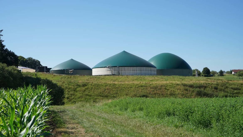 Führung durch die Biogasanlage