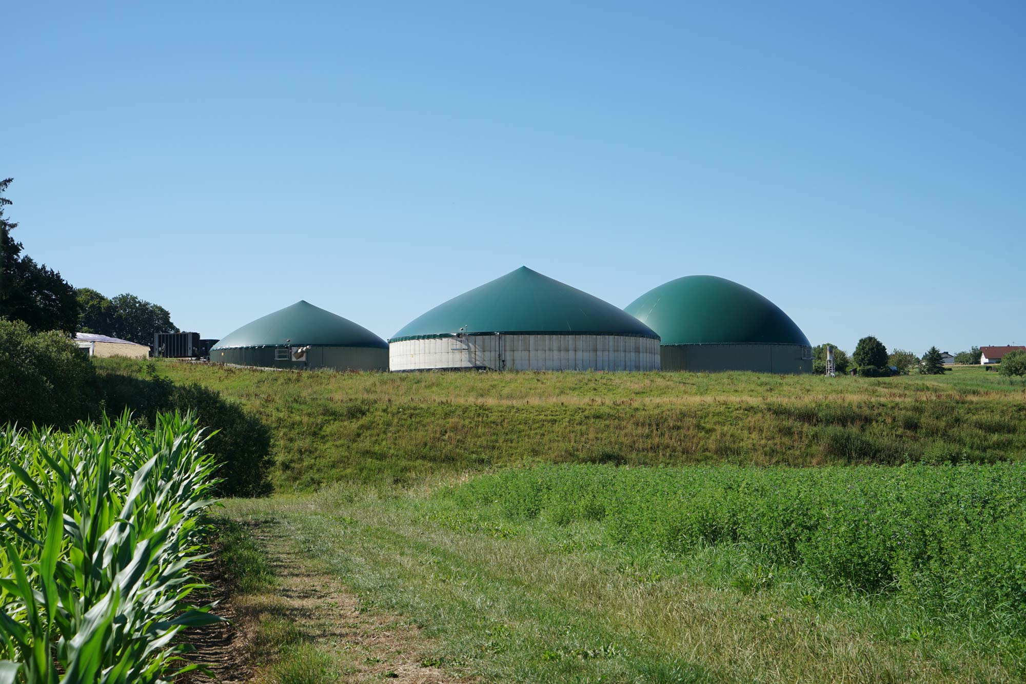 Energiegenossenschaft Gussenstadt eG – Führung durch die Biogasanlage