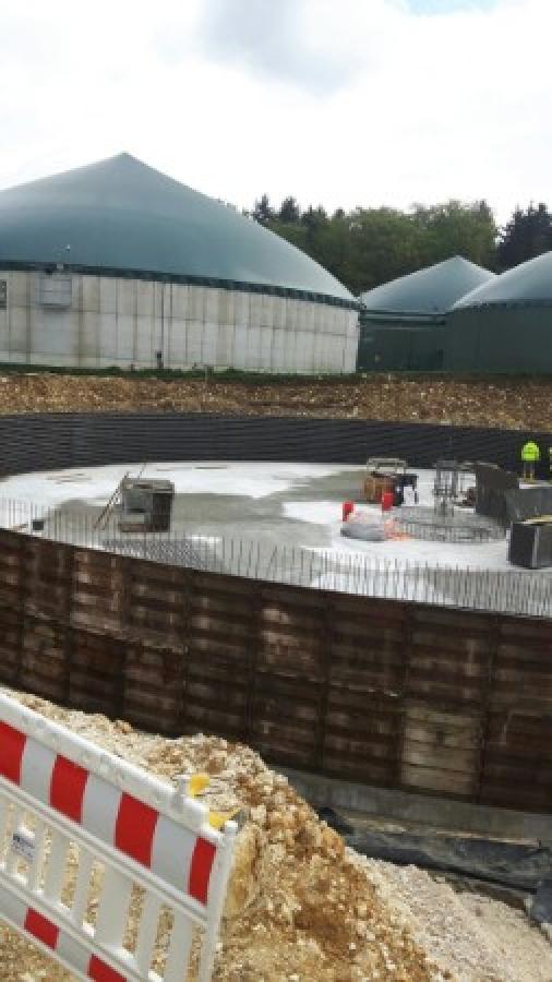 Energiegenossenschaft Gussenstadt eG – Unser neues Gärrestlager