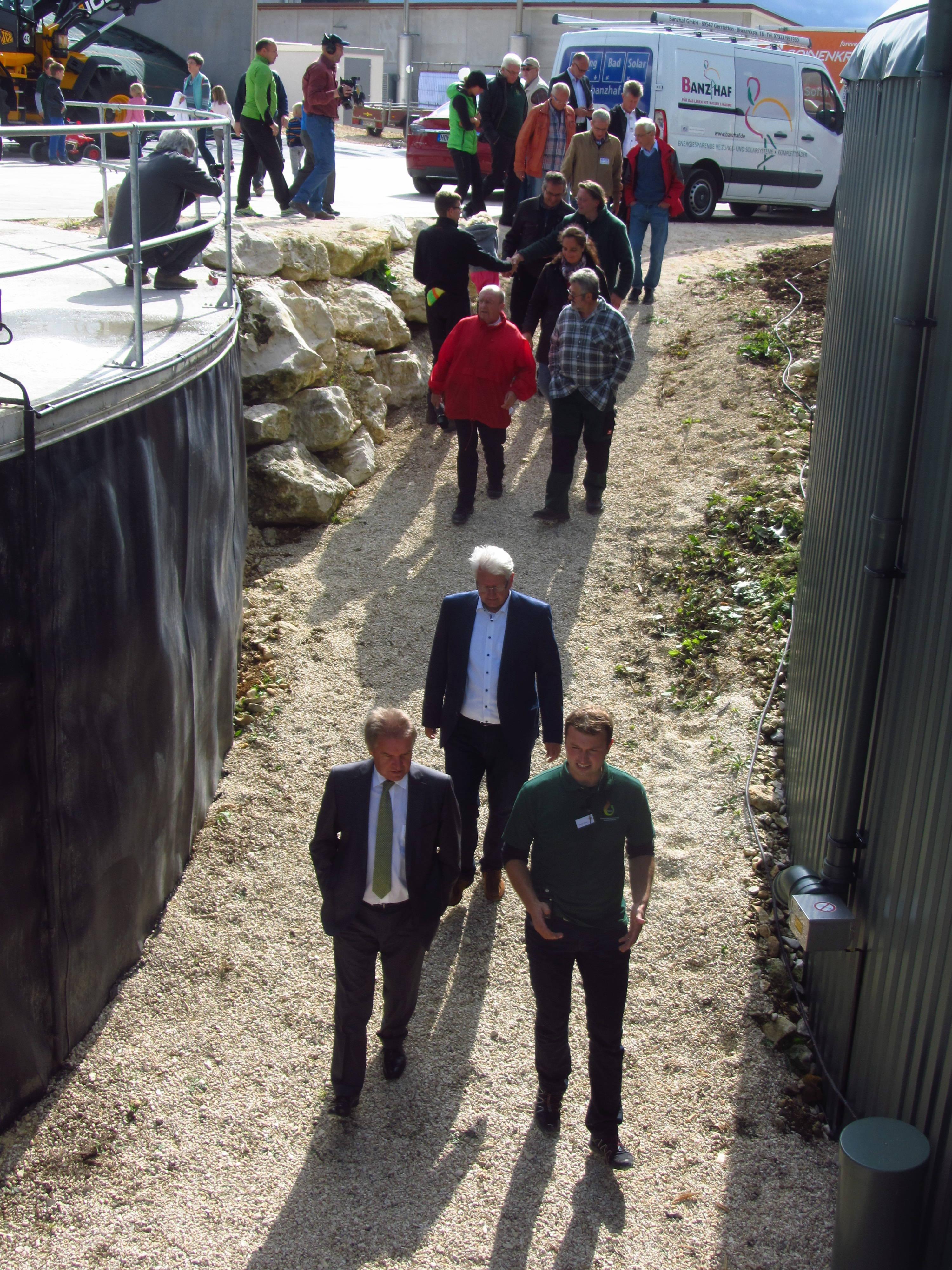 Energiegenossenschaft Gussenstadt eG – Historie Foto